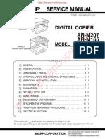 AR M162 165 207 Service Manual