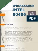 Prensentacion Intel 80486