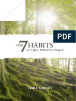 Seven Habits - 7 Habits SkillCards