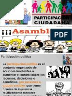 Clase participación ciudadana