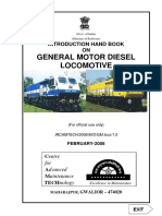 Introduction Handbook on General Motor Diesel Locomotives