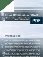 Filtración Del Agua Potable2016