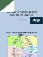 Lecture 2 Fungi