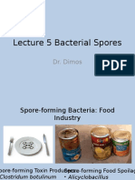 Lecture 5 Bacterial Spores