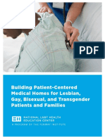 Building PCMH for LGBT Patients and Families