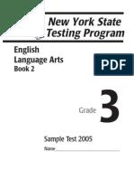 Newyork Language Arts Grade3 Book2