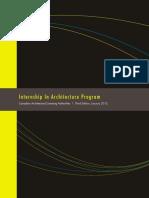 IAP - Intern Architect Programme - Canada