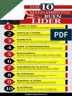 Ismael Plascencia Núñez comparte los 10 Mandamientos de un Buen Líder