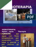 HIDROTERAPIA Y CRNOTERAPIA