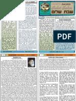 Shabat Shalom vol-2 (22.5.2010)