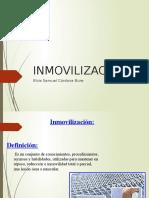 inmovilizacion