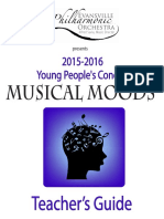 2016 Young Peoples Concert Teachers Guide