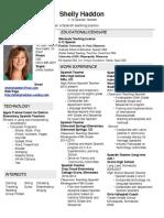 haddon resume
