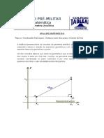 Aula de Matematica - Geometria Analitica - 12 Fev 2016 - Turmas EsSA Barro Branco e EsPCEx - Prof Neto - Curso Tableau