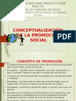 1. Conceptualizacion de Promocion Social