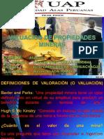 ECONOMIA MINERA (VALUACION DE PROPIEDADES MINERAS).ppt