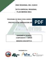 Añahuichi C1 Memoria Descriptiva