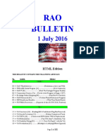 Bulletin 160701 (HTML Edition)