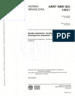 ABNT NBR ISO 14031