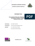 Desarrollo Forestal 2007