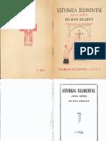 Liturgia Elemental Para Niños (1945)
