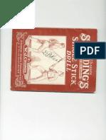 Single Stick Drills - W.J. Cromie 1919