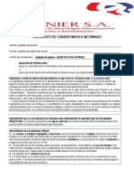 Angioplastia Quimica Selectiva Intraarterial