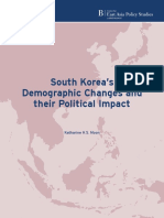 South Koreas Demographic Changes and Their Political Impact