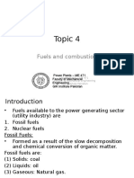 4 - Fuels and Combustion