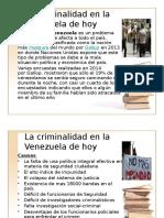 Criminalidad en Venezuela 2016