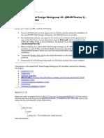 (0031) 04 - PDW v8i Ss2 - Installation