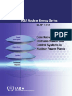 Core control system nuclear power plant