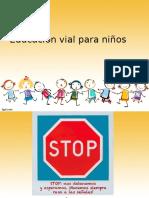 Educación Vial para infantes