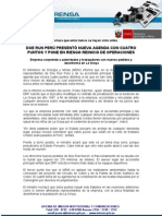 Nota de prensa 249-10 DOE RUN (Ministerio de Energía y Minas)