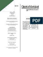 Reglamento de Transparencia del Muncipio de Guadalajara 2016