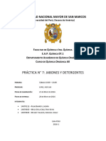 Informe 07 Quimica Organica AII