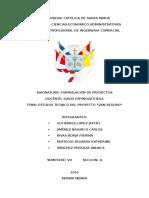 Resumen Ejecutivo Estudio Tecnico Van Seguro