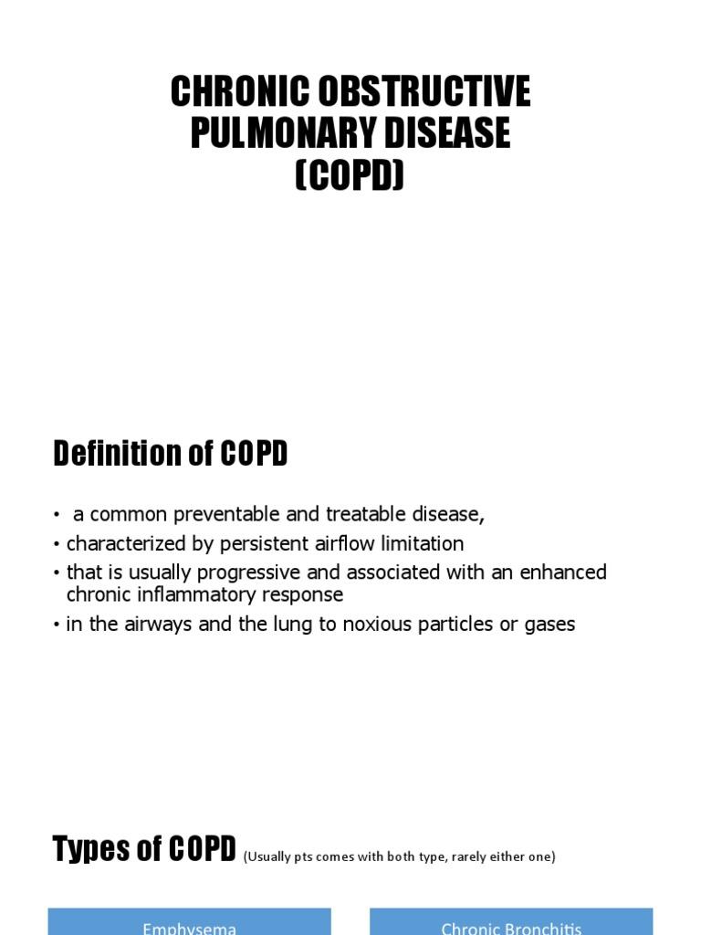 seminar copd | chronic obstructive pulmonary disease | respiratory tract