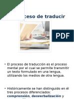 Proceso de Traduccion