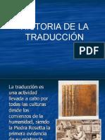 Historia de La Traducción
