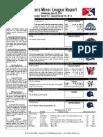 6.29.16 Minor League Report