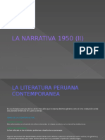 La Narrativa 1950 (II)