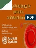 5b- Malaria Medicines for Children Silvia Schwarte(1)