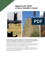 Torre de Vigilancia de Yihad Islámica en Gaza