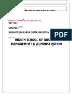 BUSINESS COMMUNICATION.rtf