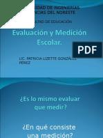 Evaluación y Medición