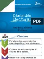 1.1 Politica y Sistema Politico