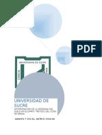 Geotecnia i Informe # 8 Densidad en El Campo, Metodo Cono de Arena