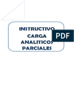 Instructivo Carga de Analiticos Parciales (1)