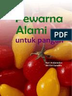 pewarna alami untuk pangan